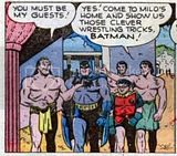 Batman and Robin in ancient Greece